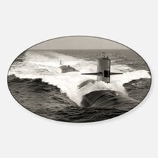 uss gplipscomb large framed print Decal
