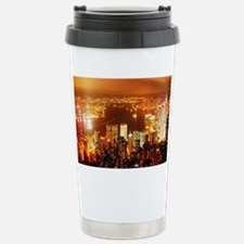 The cityscape Travel Mug
