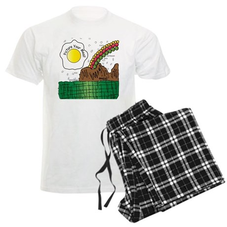 picture your meal Men's Light Pajamas