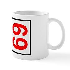 69 Autocross Number Plates Mug