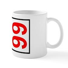 66 Autocross Number Plates Mug