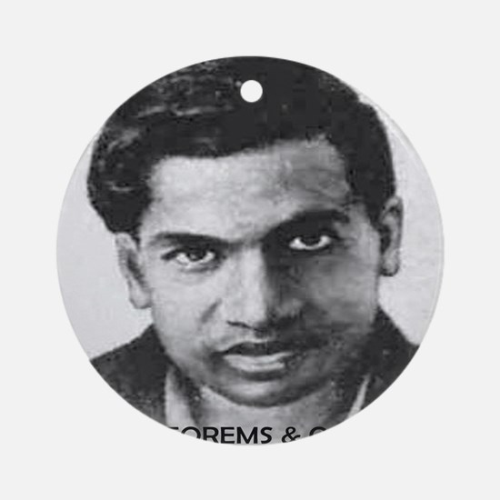ramanujan 3500 theorems and countin Round Ornament