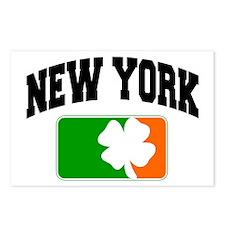 New York Shamrock Postcards (Package of 8)