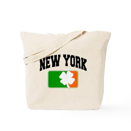 New York Shamrock Tote Bag