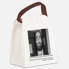 perelman straight pose Canvas Lunch Bag