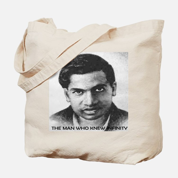 man who knew infinity Tote Bag