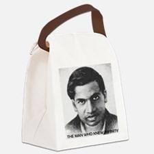 man who knew infinity Canvas Lunch Bag