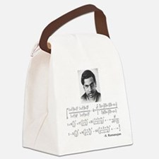 ramanujan and his equations Canvas Lunch Bag