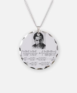 ramanujan and his equations Necklace