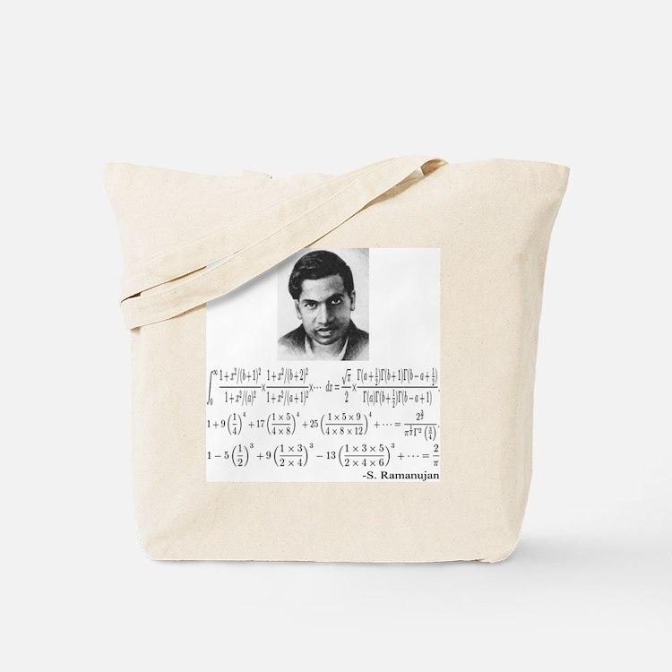 ramanujan and his equations Tote Bag