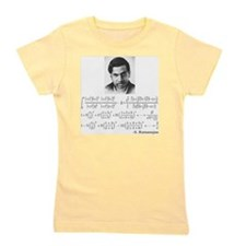 ramanujan and his equations Girl's Tee