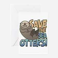 Save Sea Otters Greeting Cards (Pk of 10)