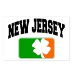 New Jersey Shamrock Postcards (Package of 8)