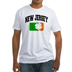 New Jersey Shamrock Fitted T-Shirt