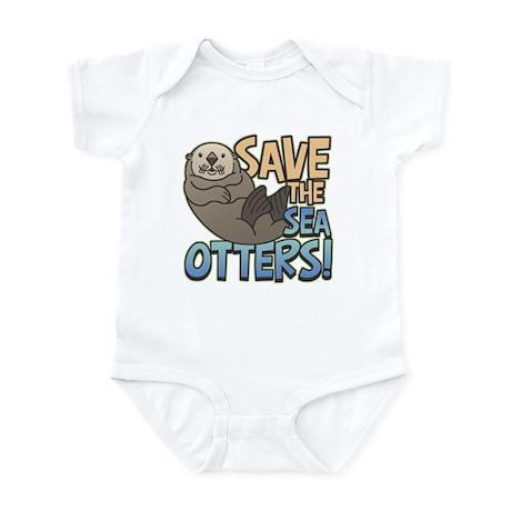 Save Sea Otters Infant Bodysuit