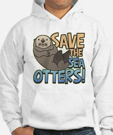 Save Sea Otters Hoodie