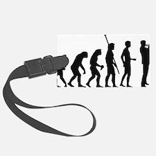 evolution trumpet player Luggage Tag