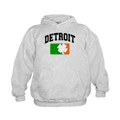 Detroit Shamrock Kids Hoodie