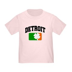 Detroit Shamrock Toddler T-Shirt