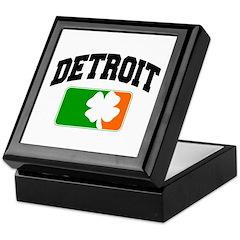 Detroit Shamrock Keepsake Box