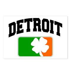Detroit Shamrock Postcards (Package of 8)