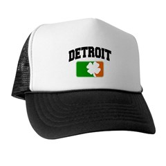 Detroit Shamrock Trucker Hat
