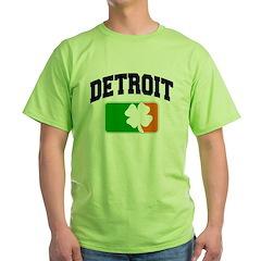 Detroit Shamrock Green T-Shirt