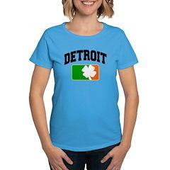 Detroit Shamrock Women's Dark T-Shirt