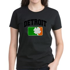 Detroit Shamrock Women's Dark T-Shirt