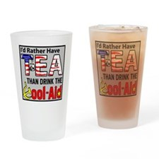 TeaPoster Drinking Glass