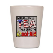 TeaPoster Shot Glass