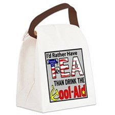 TeaPoster Canvas Lunch Bag