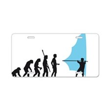 evolution windsurfing Aluminum License Plate