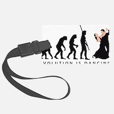 evolution dancing couple Luggage Tag