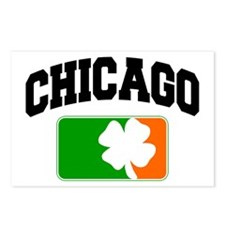 Chicago Shamrock Postcards (Package of 8)