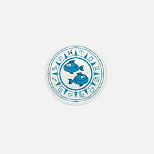 zodiac fishes Mini Button