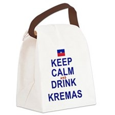 Keep Calm And Drink Kremas (red a Canvas Lunch Bag