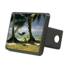 The landscape Rectangular Hitch Cover