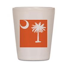 South Carolina State Palmetto Flag Shot Glass