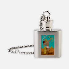 Ankhameth, Punisher of the Gods Flask Necklace