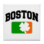Boston Shamrock Tile Coaster