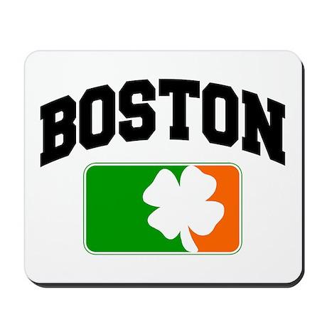 Boston Shamrock Mousepad