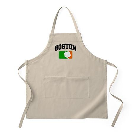 Boston Shamrock BBQ Apron