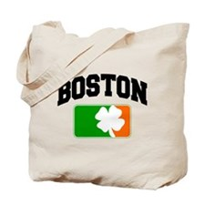 Boston Shamrock Tote Bag