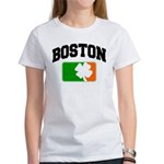 Boston Shamrock Women's T-Shirt