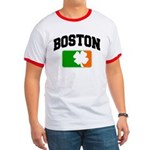 Boston Shamrock Ringer T