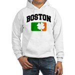 Boston Shamrock Hooded Sweatshirt