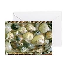 Vintage Shell Box Art Shoulder Bag Greeting Card