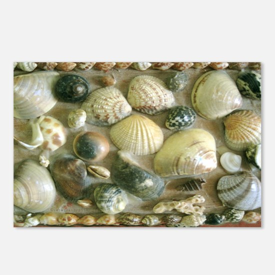 Vintage Shell Box Art Sho Postcards (Package of 8)