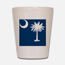 South Carolina State Palmetto Flag Shot Glass